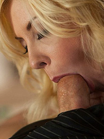 Courtney Gives Blowjob
