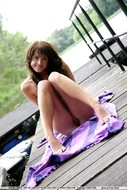 Loren relaxing nude seaside-03